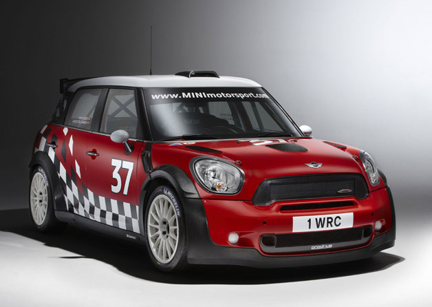 2011 Mini Countryman WRC car