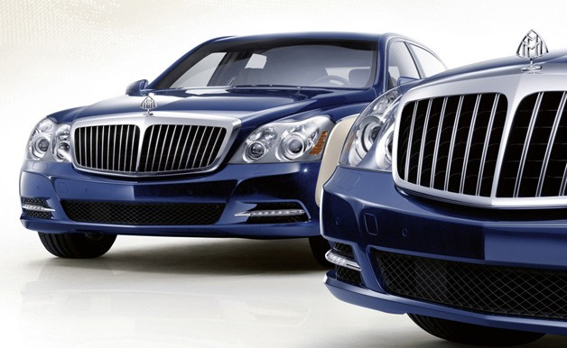 Maybach front ends