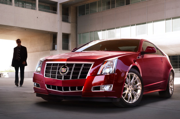 2012 Cadillac CTS Coupe Touring - front three-quarter view