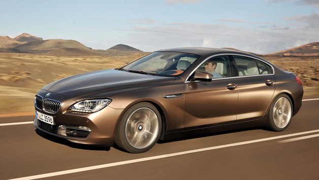 2013 BMW 6 Series Gran Coupe in motion