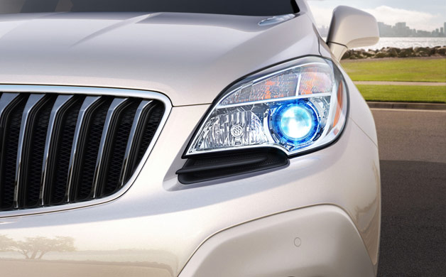 2013 Buick Encore teaser no. 1 - headlight