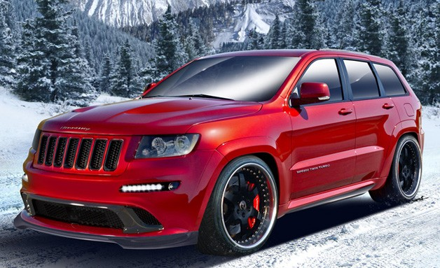 Hennessey HPE800 Twin-Turbo Jeep
