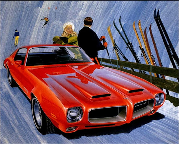 1970 Pontiac Firebird Formula 400 by Fitz and Van