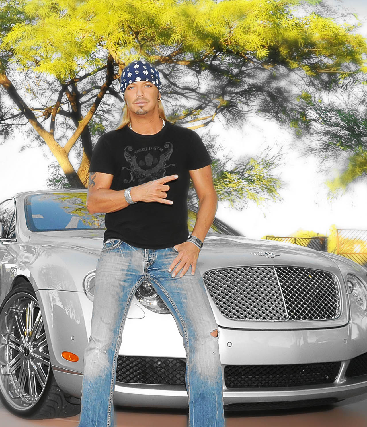 Bret Michaels Selling Family Truckster And More At Barrett