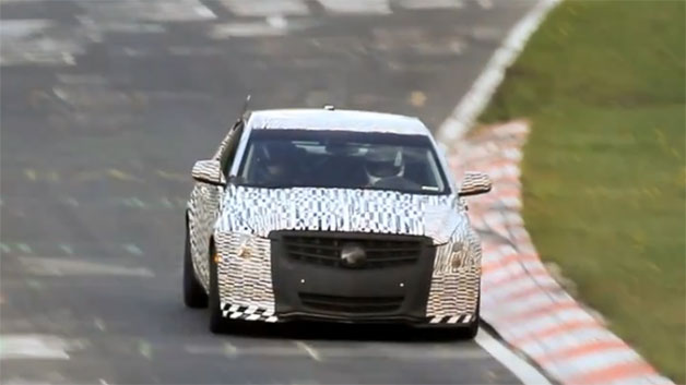 Cadillac ATS at the Nurburgring