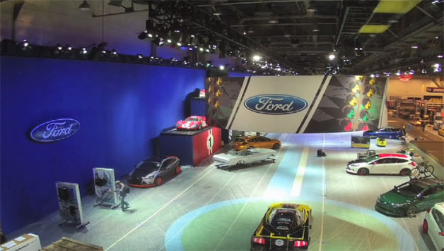 Ford SEMA Booth video