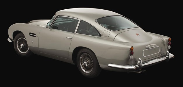 George Harrison's 1965 Aston Martin DB5
