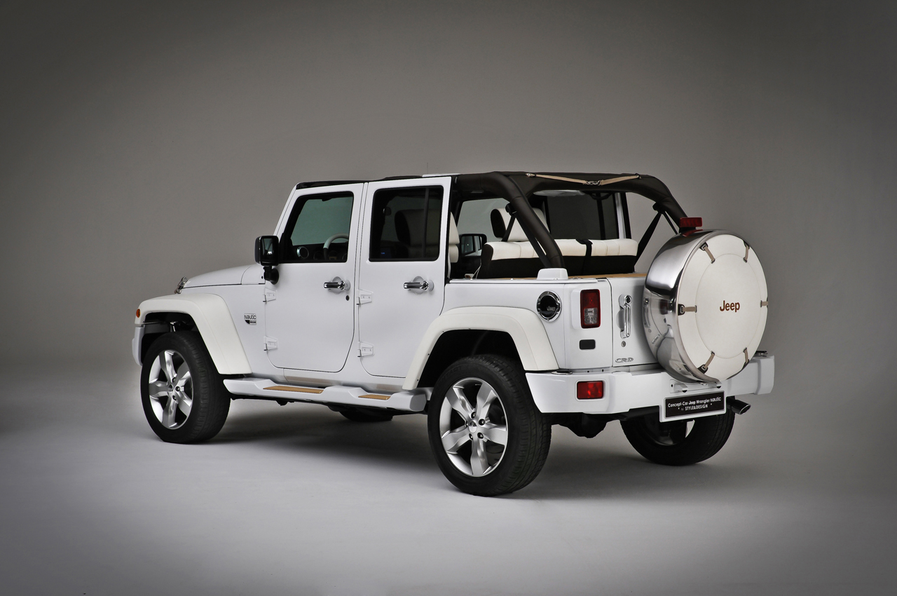 Jeep shows Wrangler Nautic concepts in Paris - Autoblog