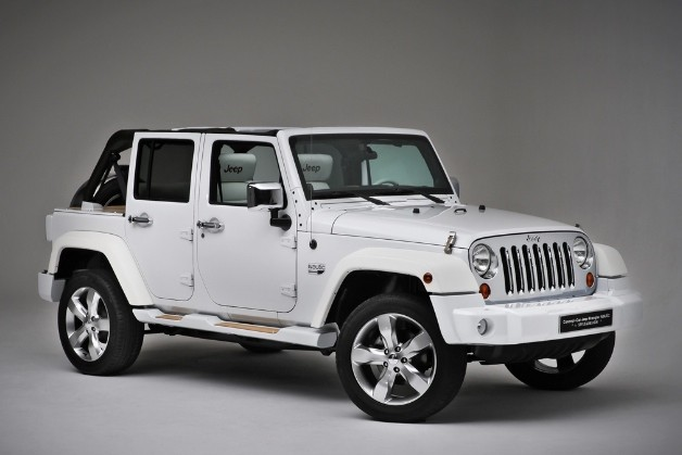 Jeep Wrangler White by Style & Design