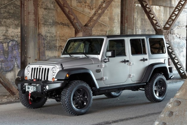 2012 Jeep Wrangler Call of Duty Modern Warefare 3