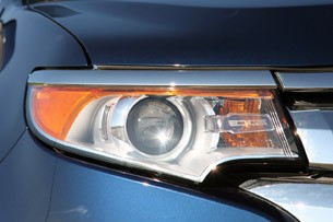 2012 Ford Edge EcoBoost headlight