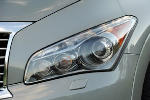2012 Infiniti QX56 headlight