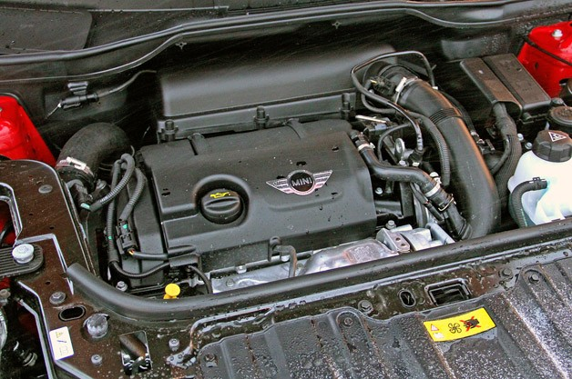 2012 Mini Countryman Cooper S John Cooper Works engine