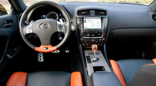 2011 Lexus IS F Interior ...