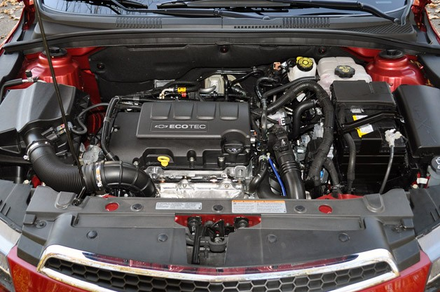 2012 Chevrolet Cruze Eco engine
