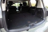 2012 Infiniti QX56 rear cargo area