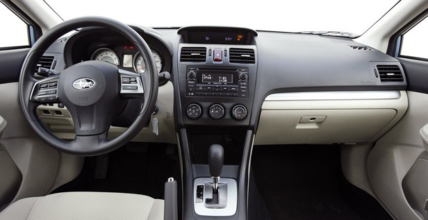 2012 Subaru Impreza interior