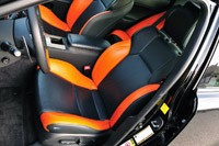 2011 Lexus IS F front seats