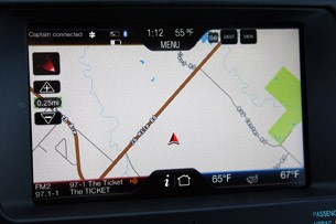 2012 Ford Edge EcoBoost navigation system