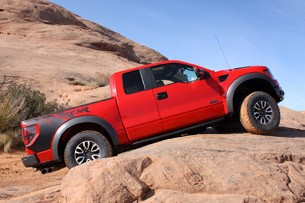 2012 Ford F-150 SVT Raptor off-road