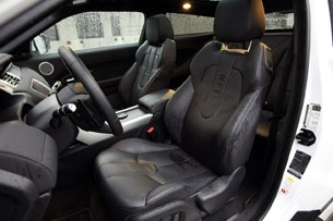 2012 Land Rover Range Rover Evoque Coupe front seats