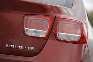 2013 Chevrolet Malibu Eco taillight