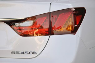 2013 Lexus GS 450h taillight