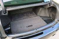 2011 Lexus IS F trunk
