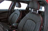 2012 Mini Countryman Cooper S John Cooper Works front seats