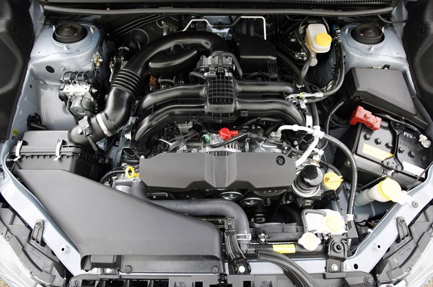2012 Subaru Impreza engine