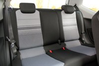 2012 Volkswagen Up! rear seats
