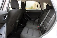 2013 Mazda CX-5 rear seats