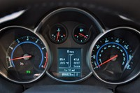 2012 Chevrolet Cruze Eco gauges