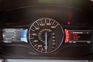 2012 Ford Edge EcoBoost gauges