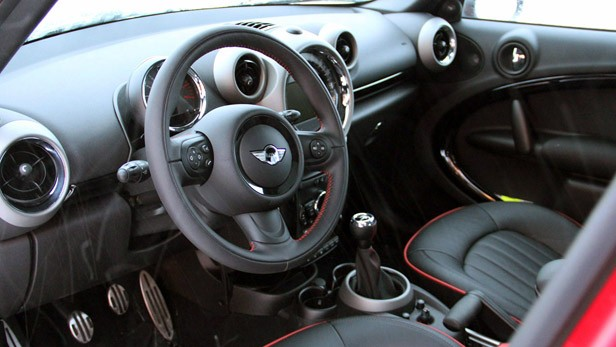 2012 Mini Countryman Cooper S John Cooper Works interior