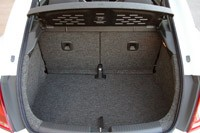 2012 Volkswagen Beetle Turbo rear cargo area