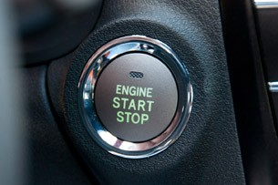 2011 Lexus IS F start button