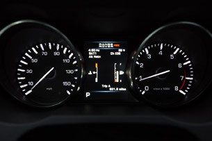 2012 Land Rover Range Rover Evoque Coupe gauges