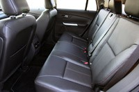 2012 Ford Edge EcoBoost rear seats