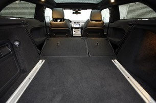 2012 Land Rover Range Rover Evoque Coupe rear cargo area