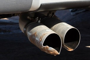 2012 Ford F-150 SVT Raptor exhaust tips