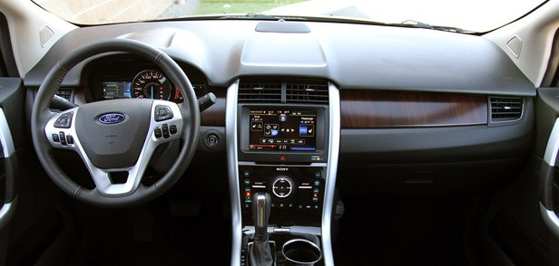 2012 Ford Edge EcoBoost interior