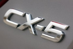 2013 Mazda CX-5 badge