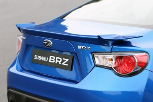 2013 Subaru BRZ rear detail