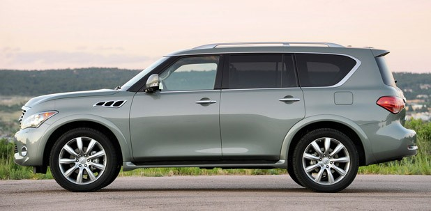 2012 Infiniti QX56 side view
