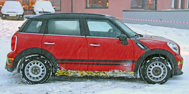 2012 Mini Countryman Cooper S John Cooper Works side view