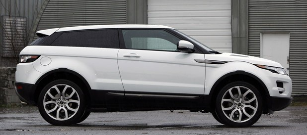 2012 Land Rover Range Rover Evoque Coupe side view