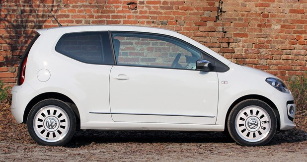 2012 Volkswagen Up! side view