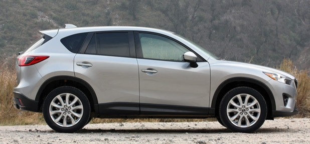 2013 Mazda CX-5 side view