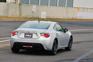 2013 Scion FR-S on track